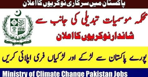 Ministry of Climate Change Jobs logo
