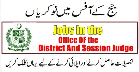 office of the district and sessions judge jobs logo